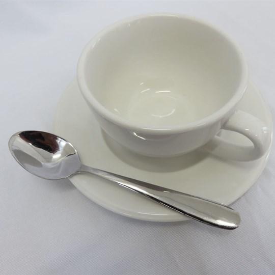 Hire - Crockery - Cup, Saucer, Teaspoon