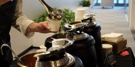 Hot Food Station - Soup Bar (min 100 guests)