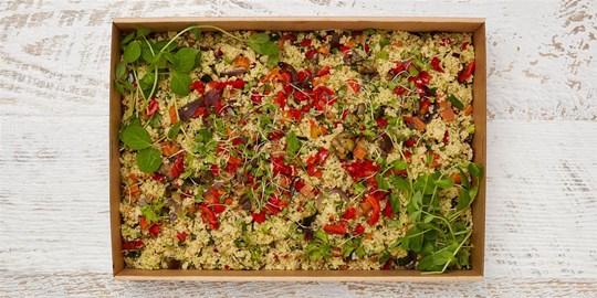 Salad Medium - Mediterranean cous cous salad (v, df)