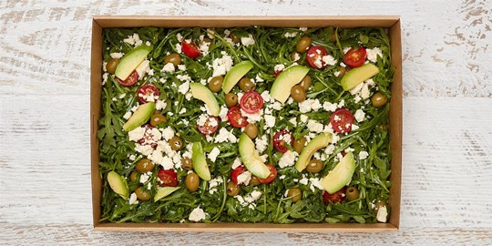 Salad Medium - Wild rocket and avocado salad (v, gf)