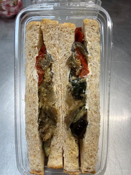 Jasbe Vegan Roast vegetable Sandwich on Multigrain (base)