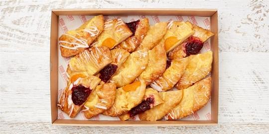 Large Fruit Danish Pastry from Noisette Bakery