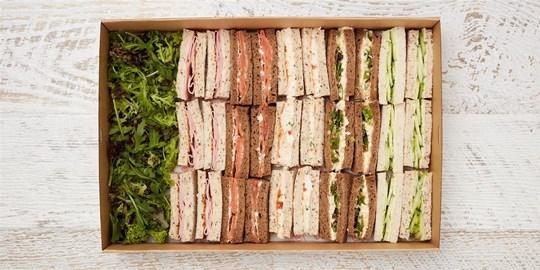 Platter - The Dorchester Hotel finger sandwich collection (30 pieces)