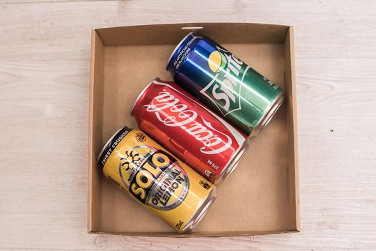 Soft drinks - variety in cans (375ml)