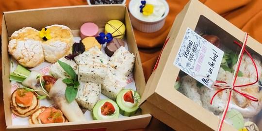 High Tea Canape Box