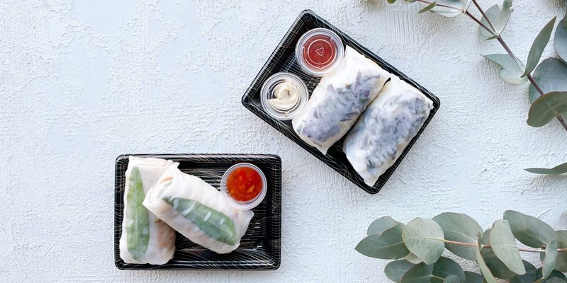Duo Rice Paper Roll Box