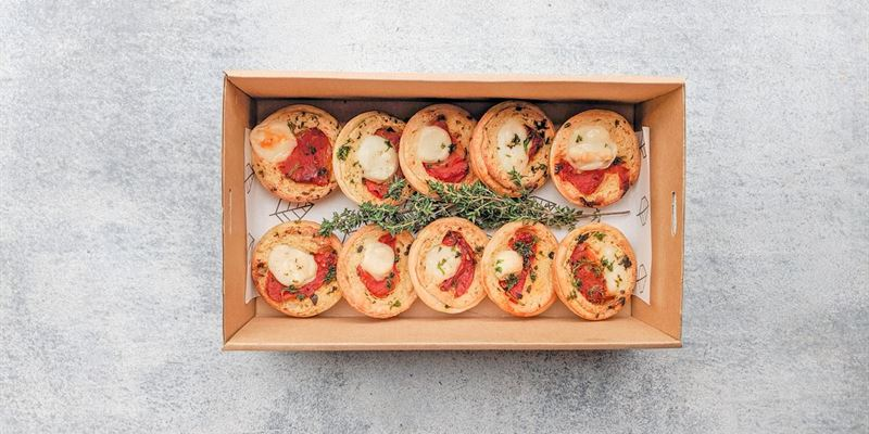 Roasted Tomato Quiche Box - Vegan (GF) 🔥