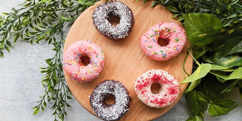 Mixed Ring Donuts Box
