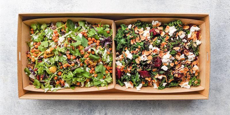 Salad Duo Box - Vegetarian