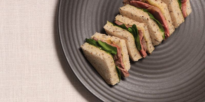 Individual Sandwich Points - Vegetarian