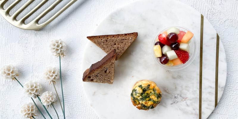 Gluten Free Breakfast Box - 2 items