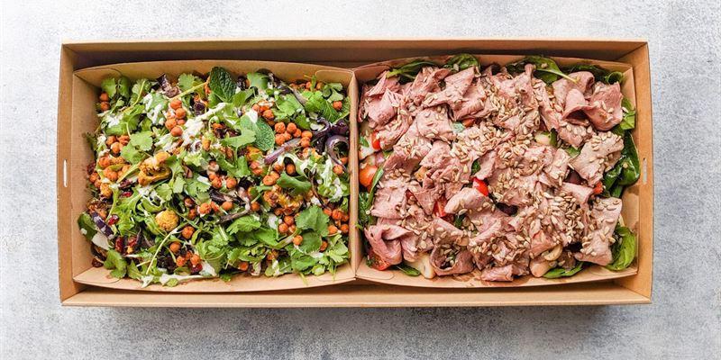 Salad Duo Box - Gluten Free