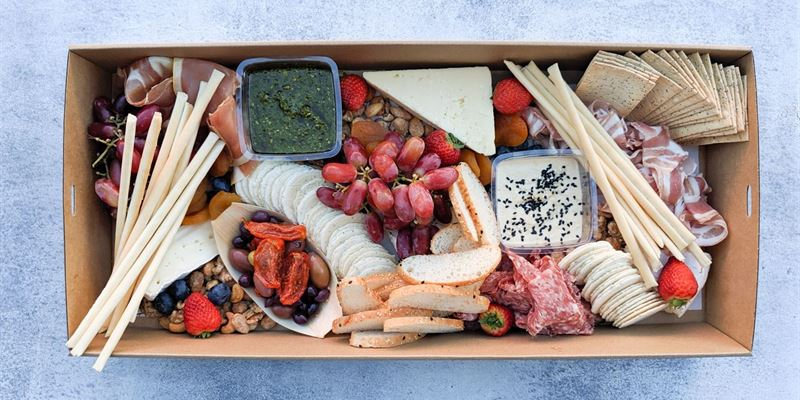 Cheese + Charcuterie Box