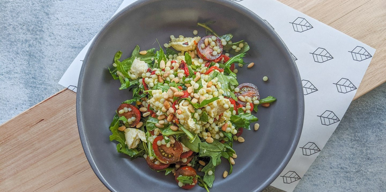 Fattoush & Pearl Cous Cous Salad (V)