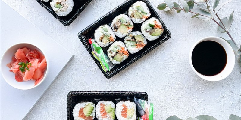 Californian Roll Sushi Box