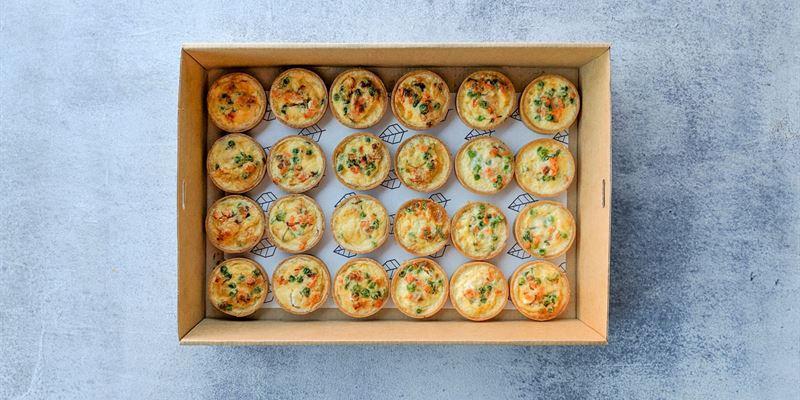 Savoury Tarts Box - Vegetarian