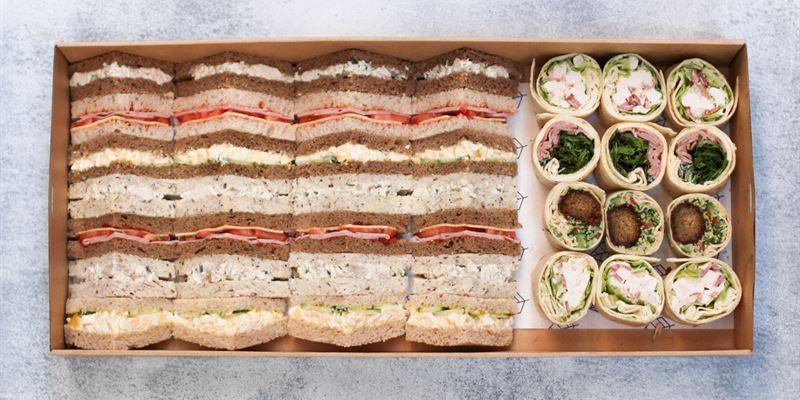 Sandwiches + Wraps Box