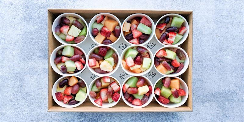 Fresh Fruit Cup Box