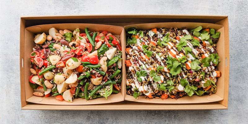 Salad Duo Box - Dairy Free