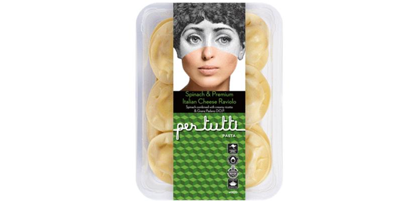 Pasta Spinach & Ricotta Raviolo