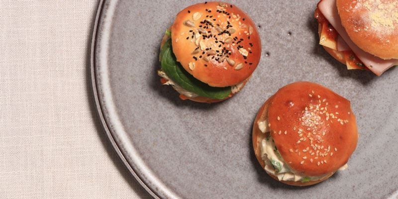 Individual Gourmet Roll - Vegetarian