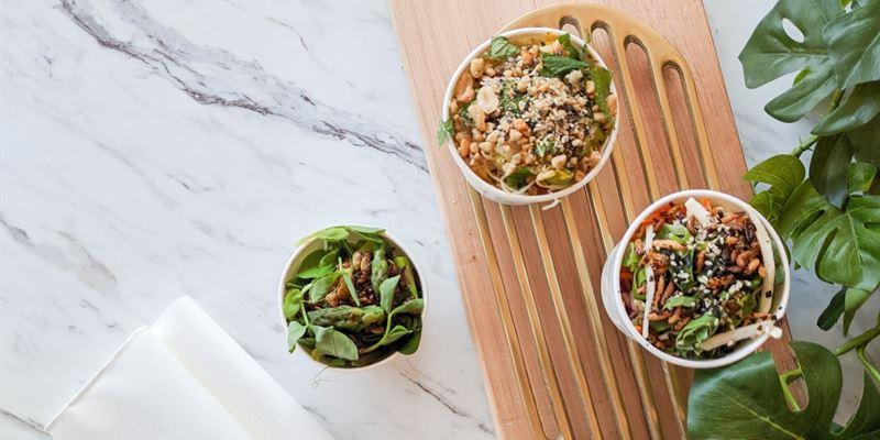 Individual Salad Pails - Gluten Free