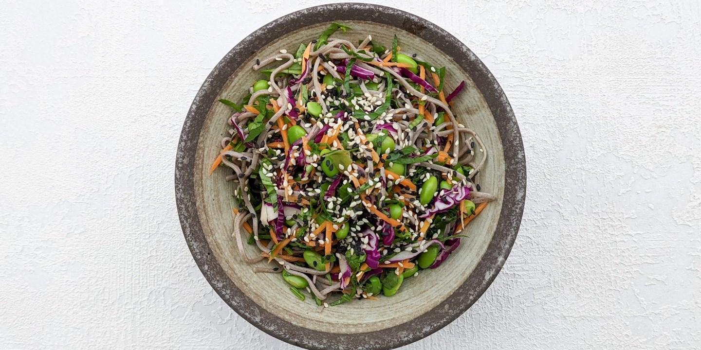 Edamame & Wild Rice Salad (GF, VG)