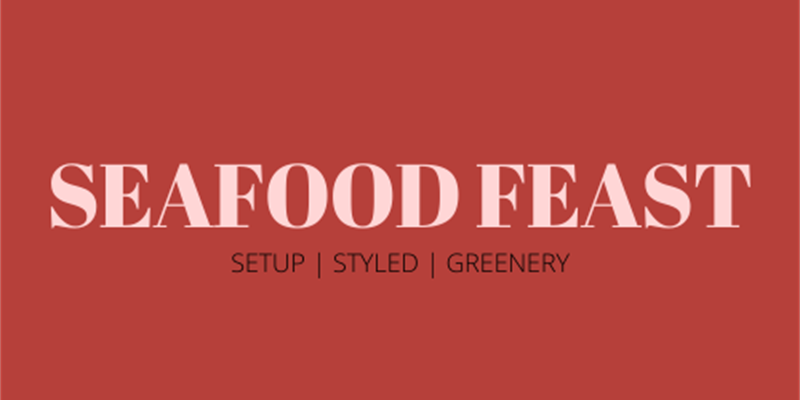 Seafood Feasting Table