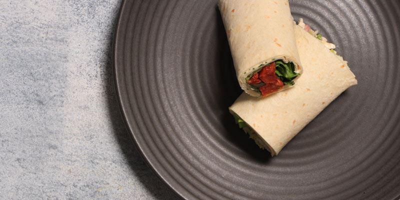 Individual Wrap - Vegetarian