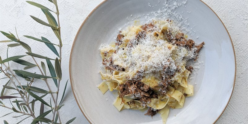 Beef Ragout & Handmade Pappardelle