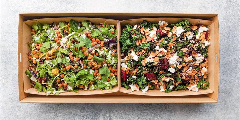 Salad Duo Box - Vegan
