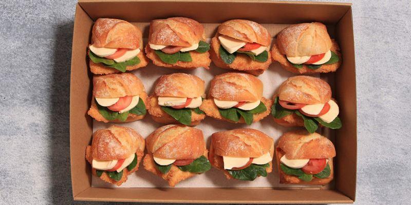 Chicken Schnitzel Roll Box