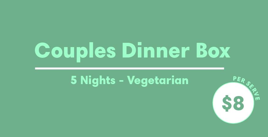 Couples Bundle - 5 night - Vegetarian