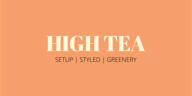High Tea Grazing Table