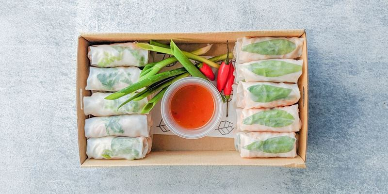 Rice Paper Roll Box