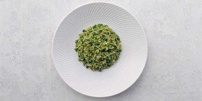 Spring Pea & Herb Risotto