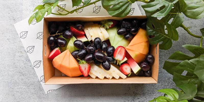 Fresh Fruit Platter Box - Half size