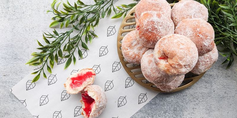 Jam Filled Donuts Box