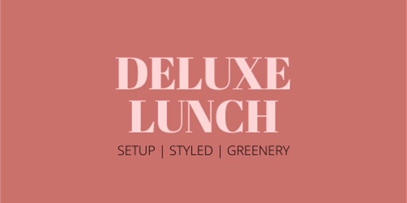 Deluxe Lunch Grazing Table