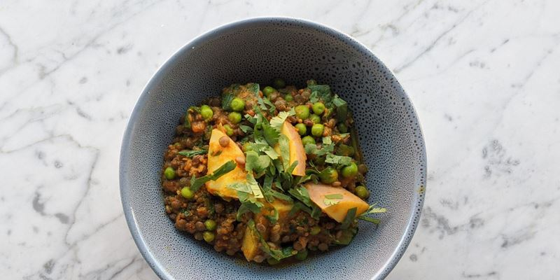 Curried Lentil & Vegetables