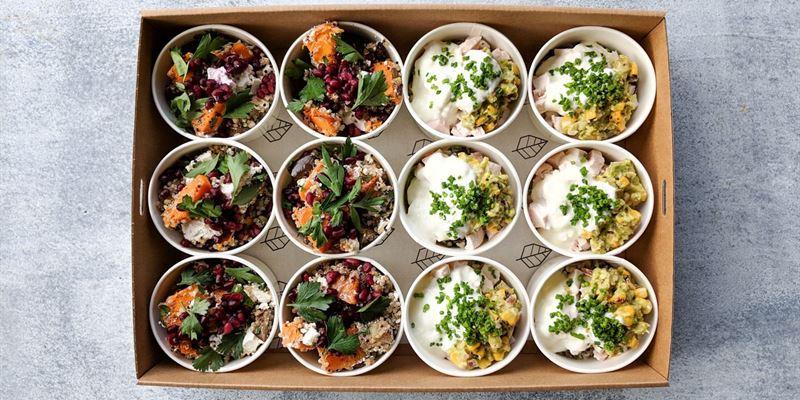 Healthy Salad Pail Box