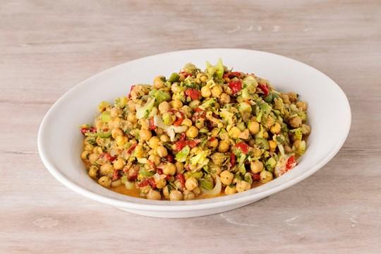Chickpea & Celery Hearts Salad