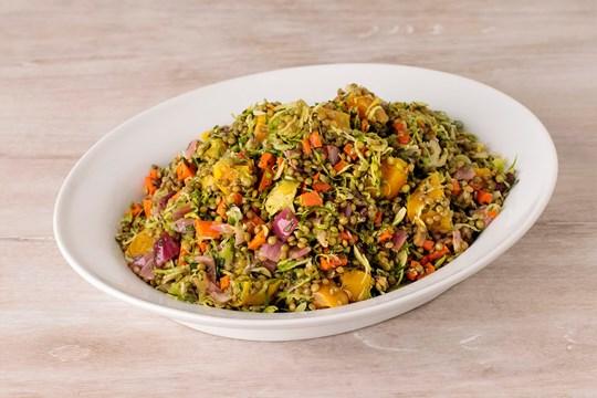 Lentil & Golden Beet Salad
