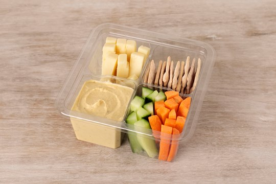 Crudité & Cheese Snack Pack