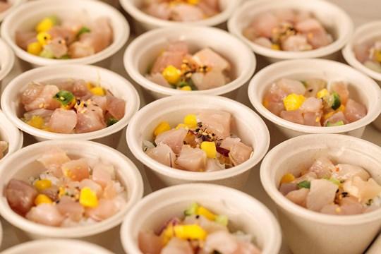 Mini Albacore Tuna, Cucumber & Mango Poke Bowl with Koshihikari Rice