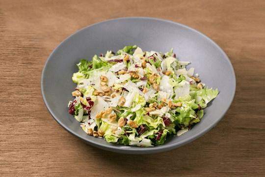 Chicory, Walnut, & Parmigiano Salad