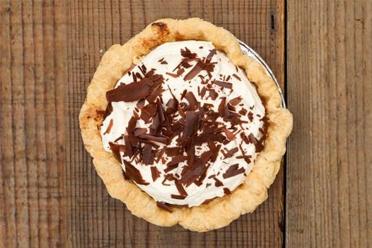 Chocolate Bourbon Cream Pie