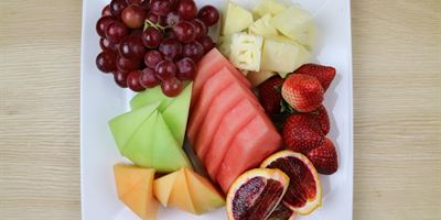 Cheese, Fruit and Yoghurt