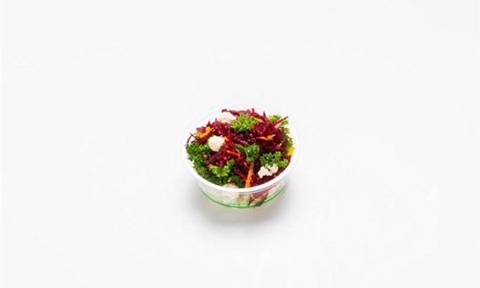 Super salad - raw beetroot, carrot, kale, toasted nuts, infused green tea dressing (GF/V) - Individual