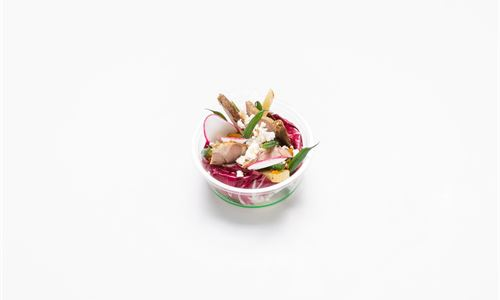 Slow roasted lamb shoulder, kumara, parsnip, green bean, feta (GF) - Individual